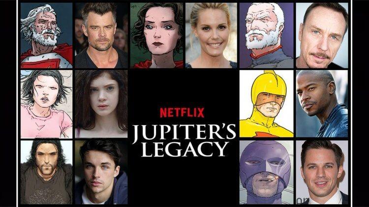 Netflix 超英雄影集《朱比特傳奇》角色及演員全面介紹!馬克米勒原作改編,細看兩代英雄的人物定位——首圖