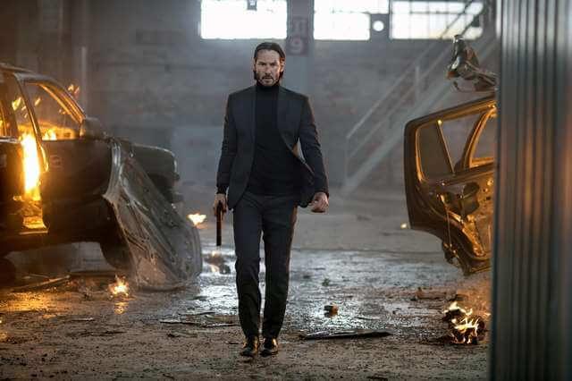 由基努李維主演的《捍衛任務》系列,有諸多暴力場景。