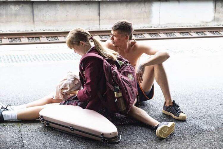 艾莉莎斯坎倫主演電影《謝謝你愛過我》劇照。