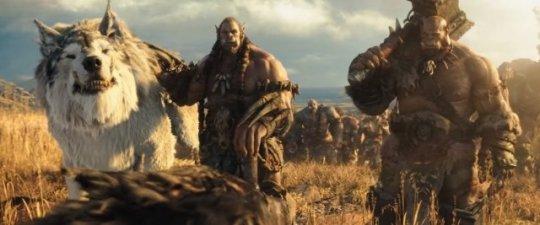 知名網路即時戰略遊戲《魔獸世界》系列改編的電影《魔獸:崛起》劇照。