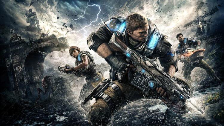 電玩遊戲《戰爭機器》(Gears of War)