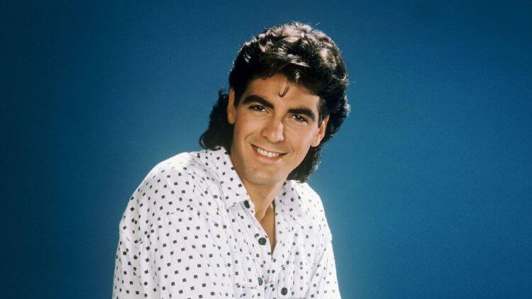 1985 年,年輕的克隆尼在好萊塢求發展。