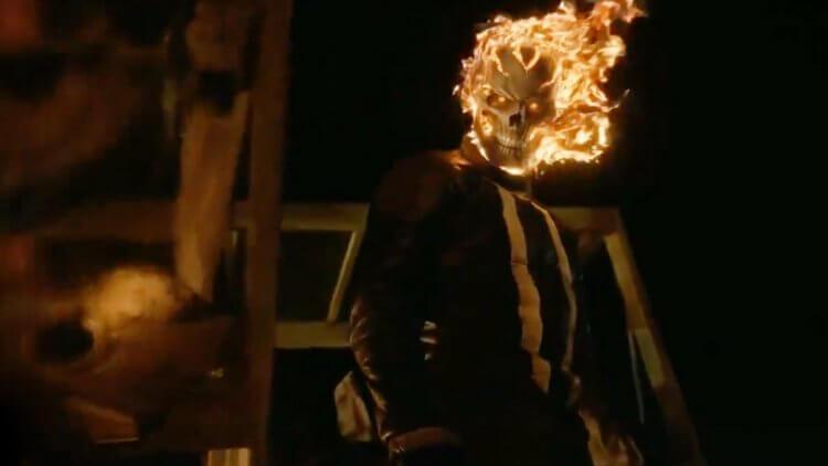漫威影集《神盾局特工》中出現的「惡靈戰警」羅比雷耶斯(蓋布瑞盧納 飾)。