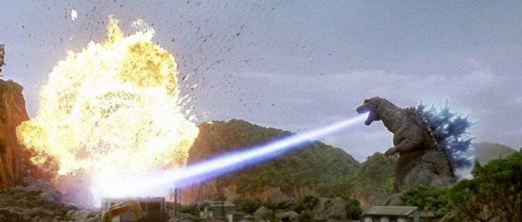 2001 年新世紀哥吉拉怪獸電影《哥吉拉‧摩斯拉‧王者基多拉 大怪獸總攻擊》充滿濃濃平成卡美拉風格。