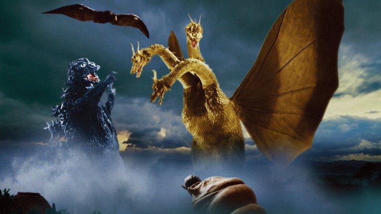 【專題】怪獸系列:哥吉拉《三大怪獸 地球最大的決戰》怪獸警匪戀愛歌舞都給我來一點 (16)
