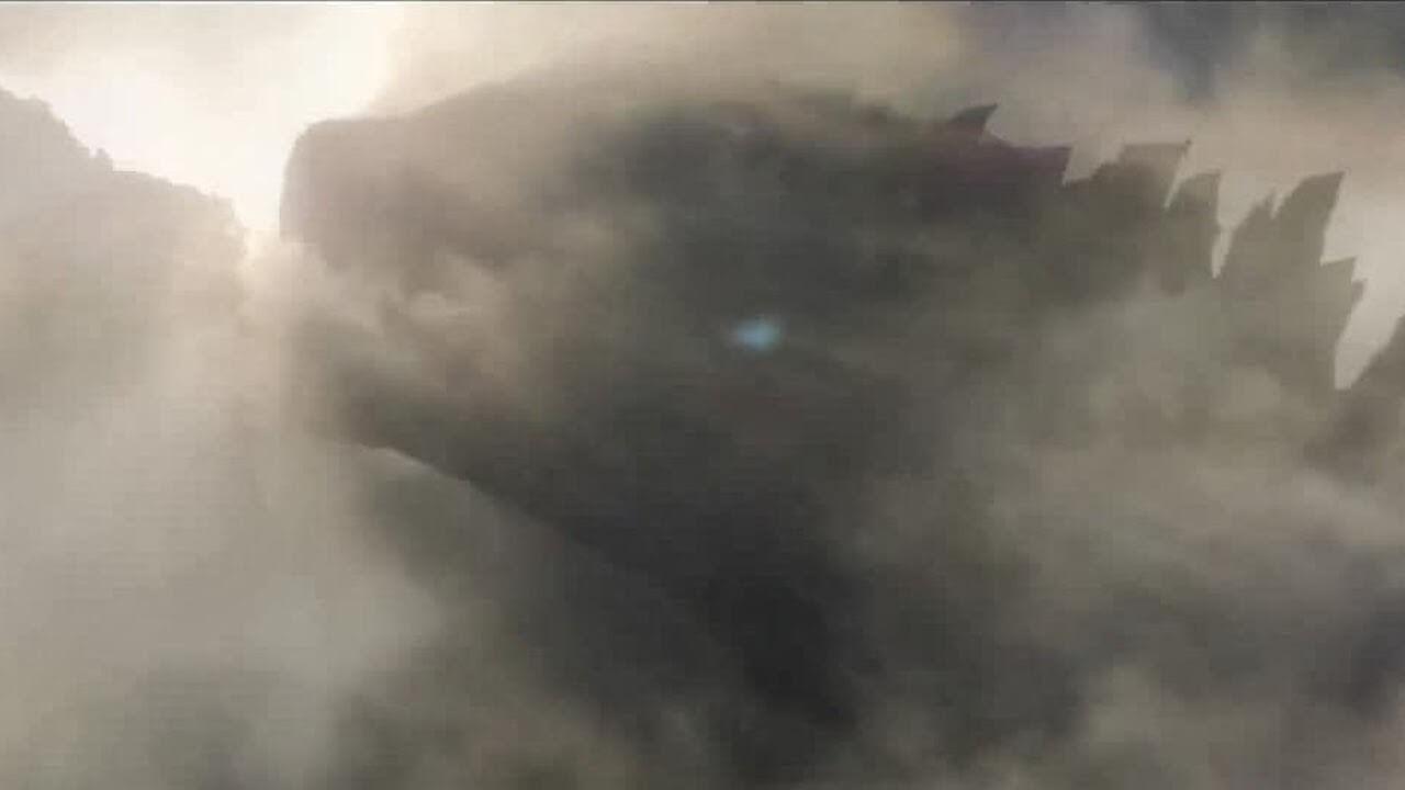 傳奇影業 2012 年於 Comic con 發佈的《哥吉拉》電影宣傳影片畫面。