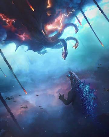 華納發行,傳奇影業打造的「怪獸宇宙」電影第二發:麥可道格堤導演作品《哥吉拉 Ⅱ:怪獸之王》。