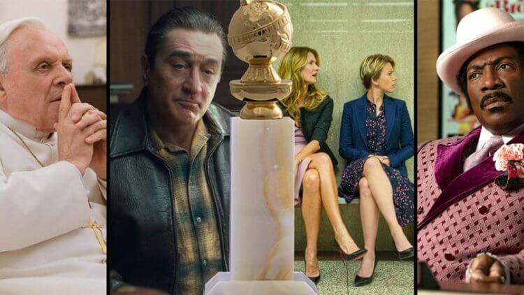 金球獎入圍名單揭曉!Netflix 原創電影《愛爾蘭人》、《婚姻故事》、《教宗的繼承》以及《我叫多麥特》強勢橫掃首圖