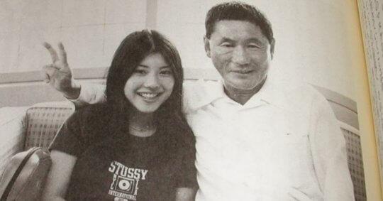 北野武與妻子北野幹子。