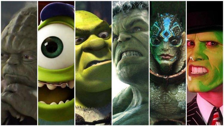 說到綠臉你會想到誰?尤達寶寶和那些影視世界讓人難忘的綠臉人首圖