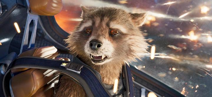 飾演 火箭浣熊 的 布萊德利庫柏 ,是《 星際異攻隊3 》新導演人選之一。
