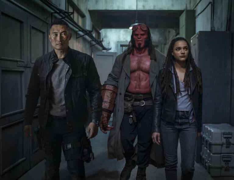 重啟版的地獄怪客電影《地獄怪客:血后的崛起》由大衛哈伯 (David Harbour) 主演,與薩莎蓮恩 (Sasha Lane) 以及金大賢攜手合作。