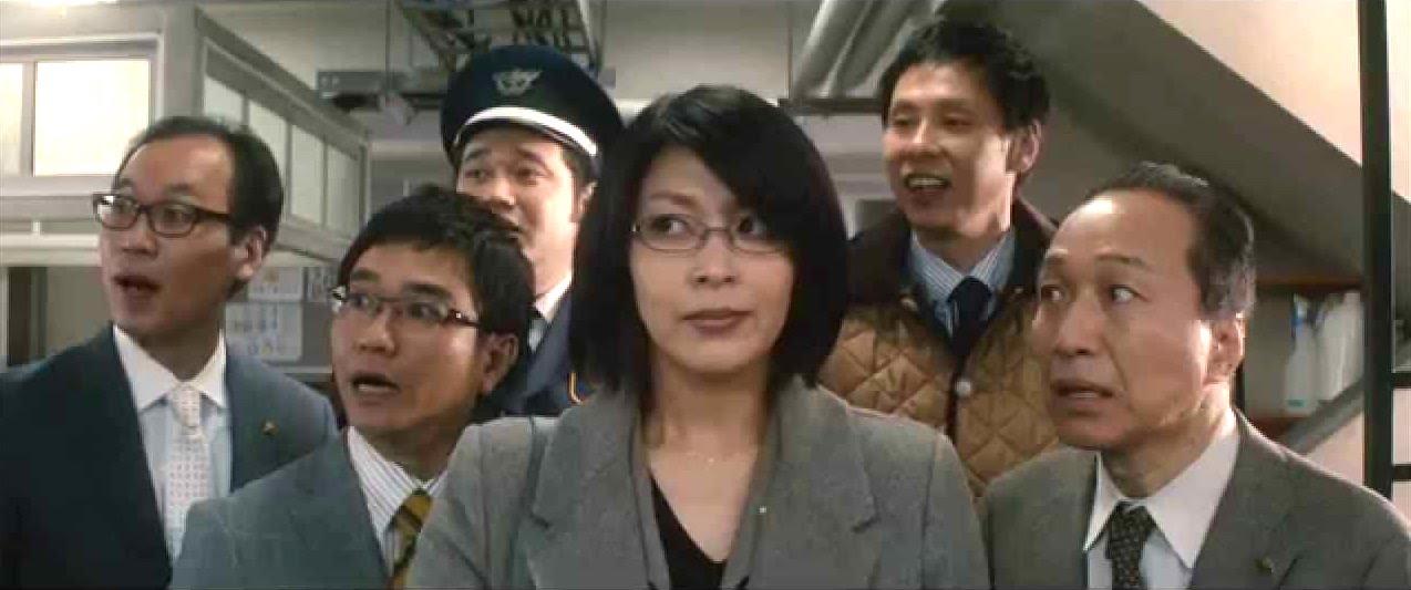 松隆子、小日向文世等演員皆多次和木村拓哉同台飆戲,圖為新版《HERO》劇照。
