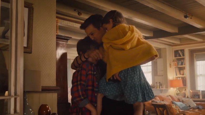 鷹眼與他的家人。
