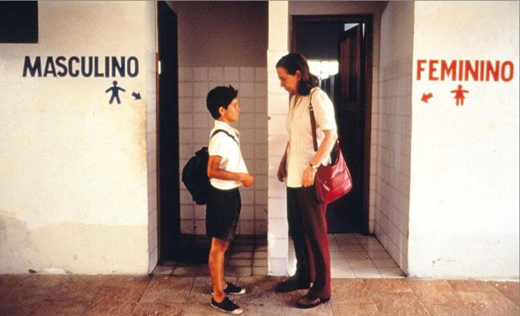 《中央車站》文尼西斯狄奧利維拉、費娜達蒙蒂妮蘿。