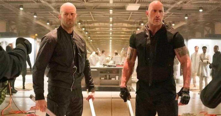 《玩命關頭外傳:哈柏與蕭》(Fast & Furious Presents: Hobbs & Shaw) 巨石強森以及傑森史塔森 主演