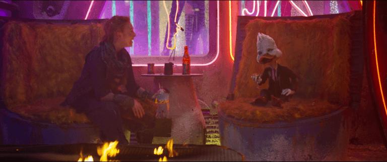 《星際異攻隊》(Guardians of the Galaxy) 系列裡的「霍華鴨」(Howard the Duck)。