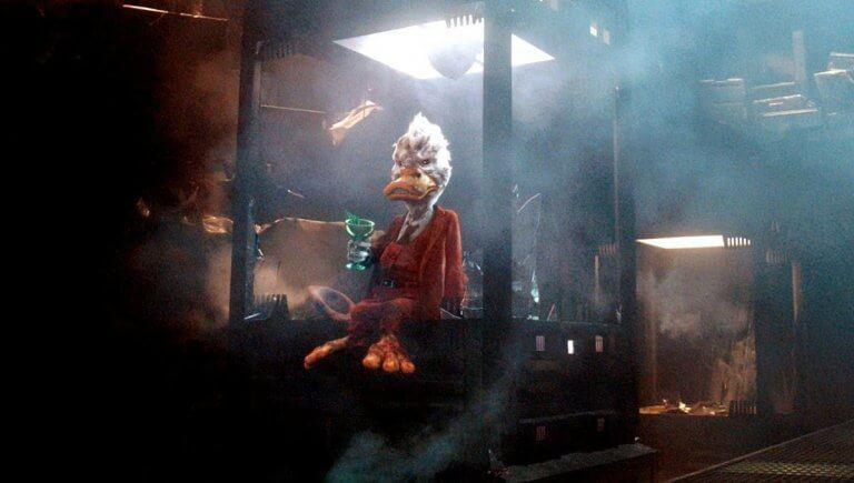 《星際異攻隊》(Guardians of the Galaxy) 系列裡的「霍華鴨」(Howard the Duck)。