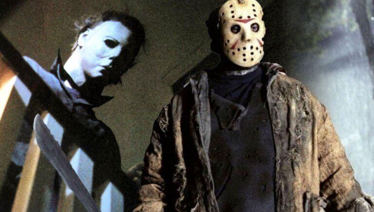 《13號星期五》(Friday the 13th) 殺人魔傑森沃爾希斯 (Jason Voorhees) 以及《月光光心慌慌》(Halloween) 裡麥克邁爾斯 (Michael Myers)。