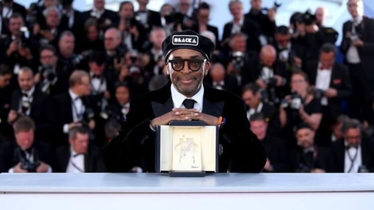 史派克李在 2018 年坎城影展憑藉《黑色黨徒》獲得評審團大獎。