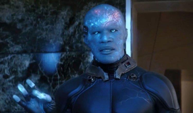 傑米福克斯於《蜘蛛人》系列電影飾演「電光人」。