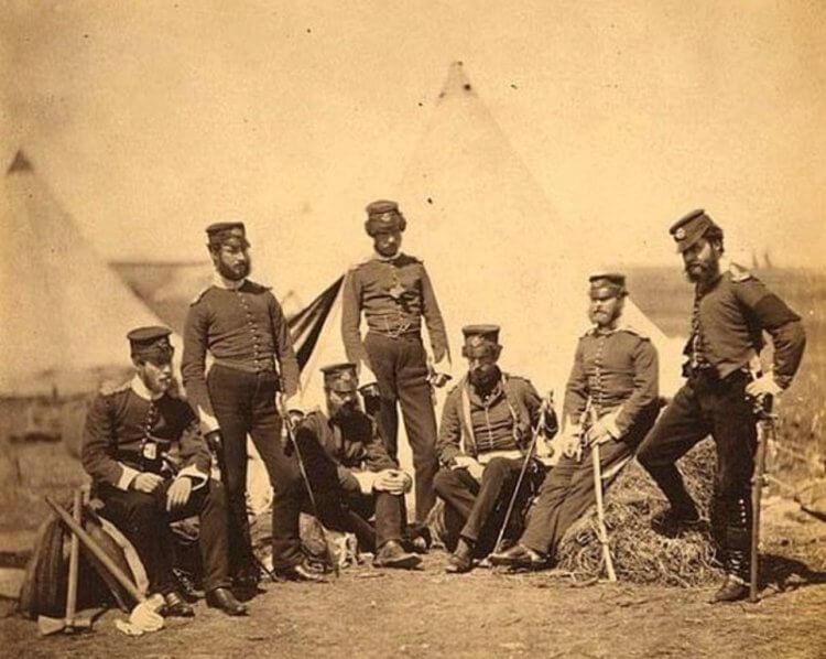 由羅傑芬頓所拍攝的克里米亞戰爭畫面。