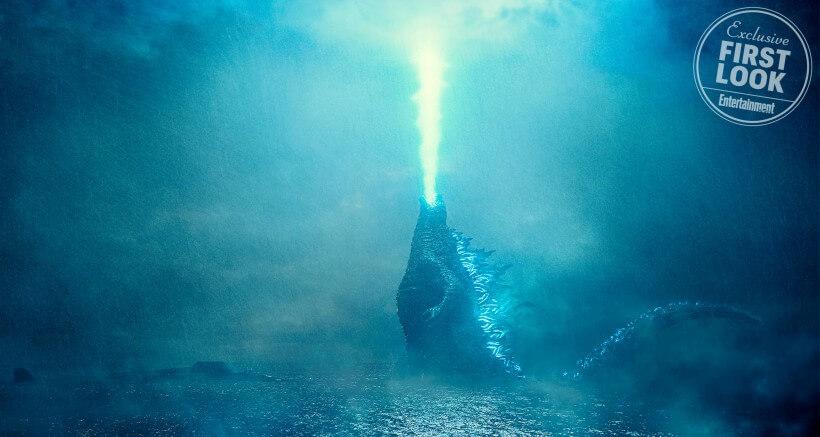 哥吉拉電影 《哥吉拉2:怪獸之王》 劇照 。