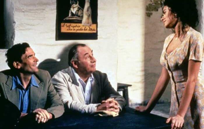 《郵差》菲利普諾雷、馬西莫特洛依西,以及瑪莉雅葛瑞娜。