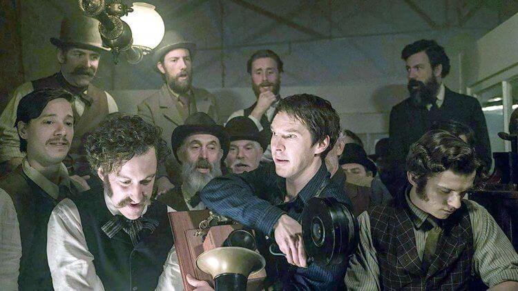 《電流大戰》電影劇照。