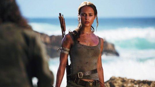《古墓奇兵》(Tomb Raider) 劇照。