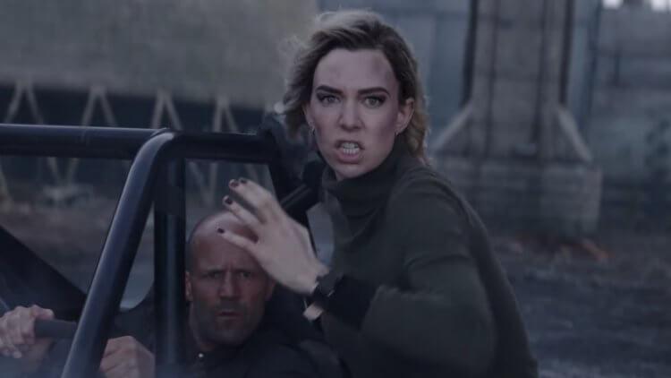 《玩命關頭:特別行動》(Fast & Furious Presents: Hobbs & Shaw) 裡的凡妮莎柯比 (Vanessa Kirby) 。