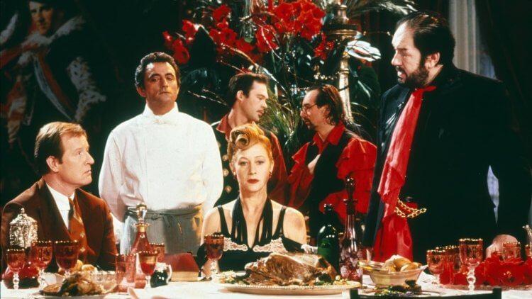 1989 年《廚師、大盜,他的妻子和她的情人》