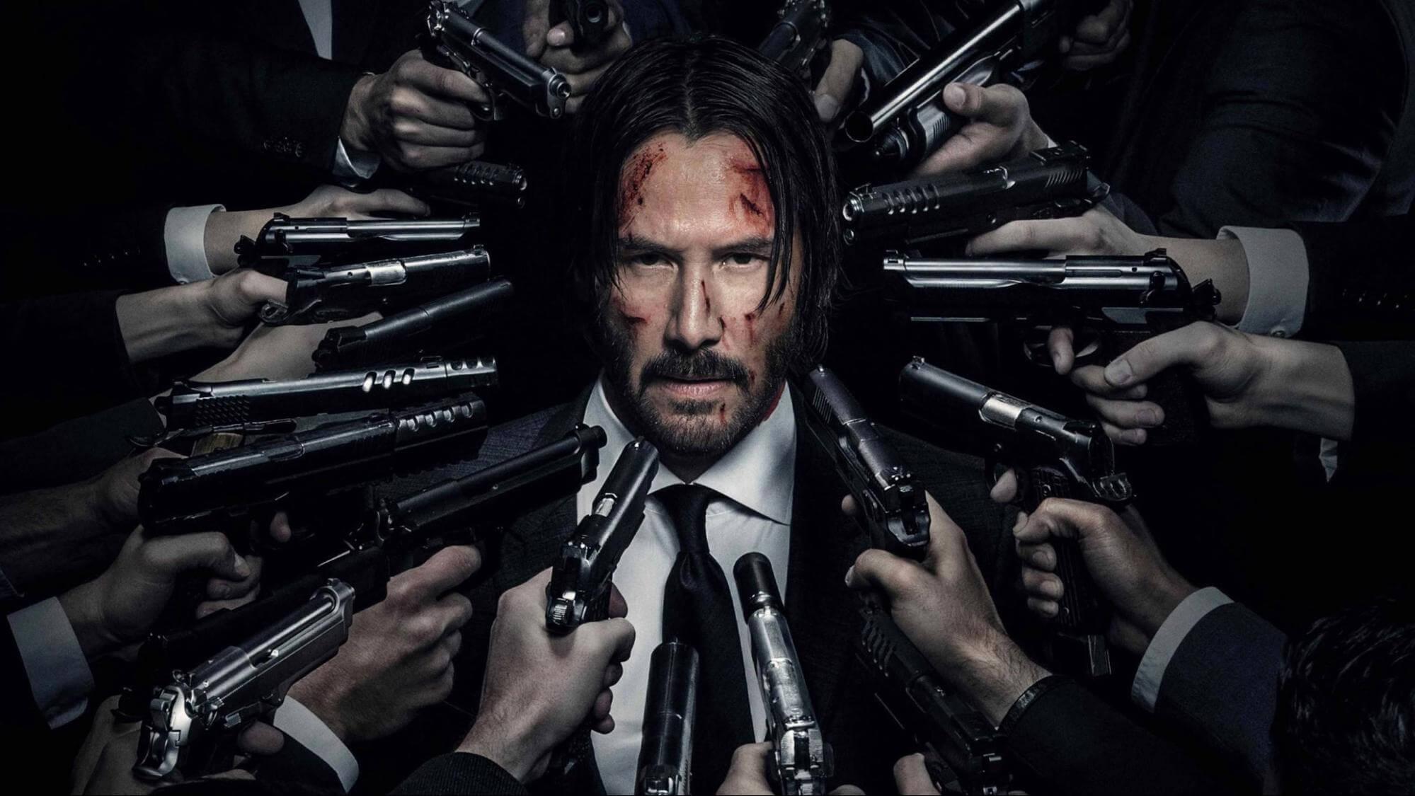 《捍衛任務》系列中,由基努李維飾演的地表最強殺神:約翰維克 (John Wick)。
