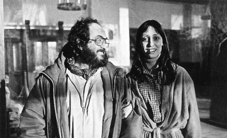 《鬼店》導演史丹利庫柏力克以及用生命在拍攝的雪莉杜瓦。