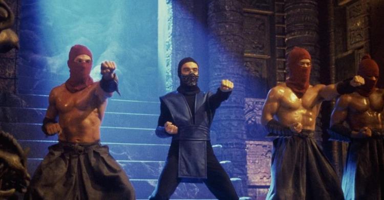 遊戲《真人快打》改編電影《魔宮帝國》劇照。