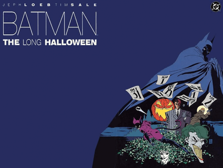 《蝙蝠俠:漫長萬聖節》漫畫