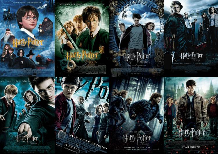 《哈利波特》系列是當今最著名的系列電影之一。