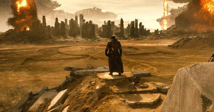 《蝙蝠俠對超人:正義曙光》蝙蝠俠噩夢片段。
