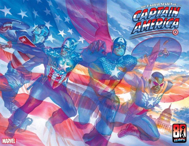 漫威漫畫新系列《The United States of Captain America》。