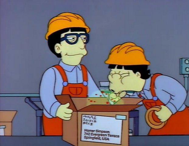 長壽動畫影集《辛普森家族》編劇之一的比爾奧克利出面表示,27 年前讓某名亞洲工人對即將寄往美國的箱子咳嗽傳播病毒,只是一種卡通式的荒誕喜劇呈現。