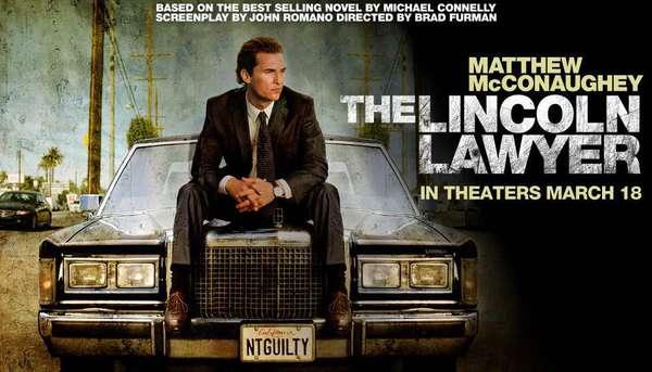 《林肯律師》曾被改編為馬修麥康納主演的電影《下流正義》。