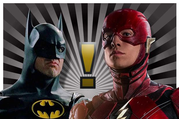 米高基頓(麥可基頓)有可能在伊薩米勒主演的《閃電俠》電影回歸演出蝙蝠俠。