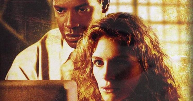 丹佐華盛頓、茱莉亞羅勃茲曾主演電影《絕對機密》。