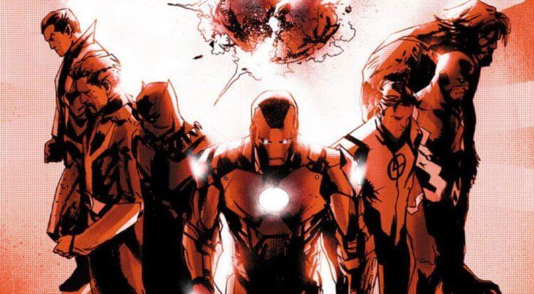 漫威漫畫《新復仇者聯盟》系列。