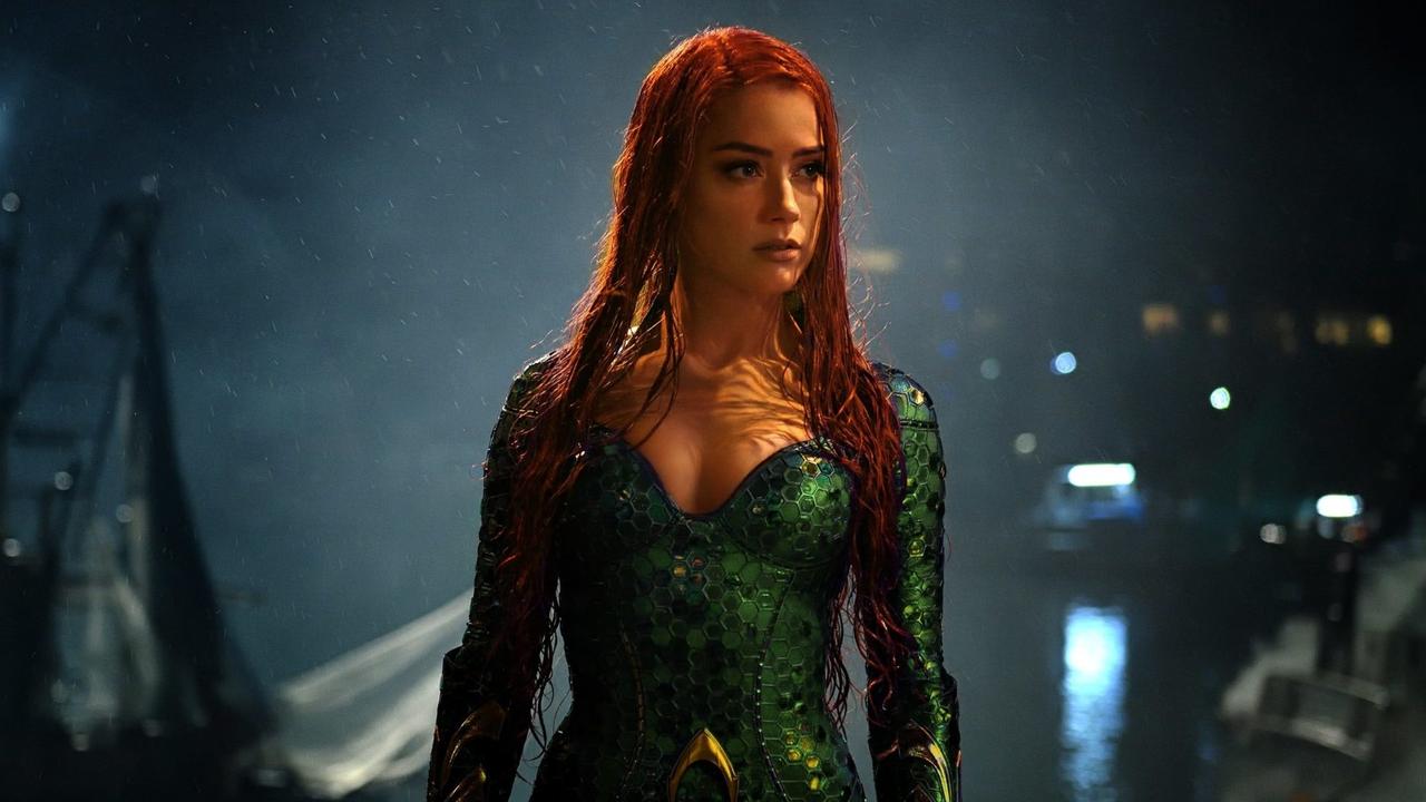 DC 超級英雄電影《水行俠》中的梅拉:安柏赫德。