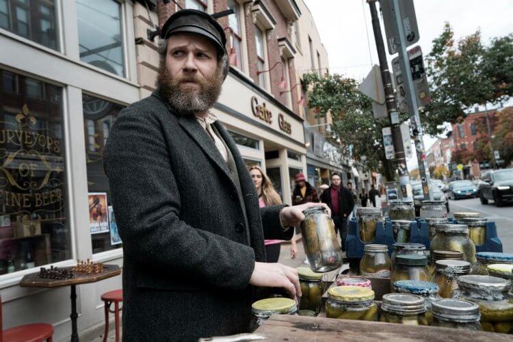 賽斯羅根一人分飾兩角主演 HBO Max 首部原創電影《美國醃黃瓜》。