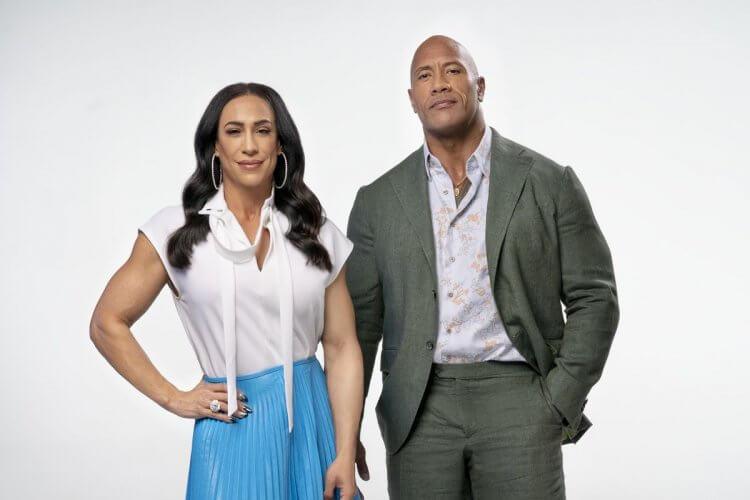 巨石強森與前妻丹妮賈西亞。