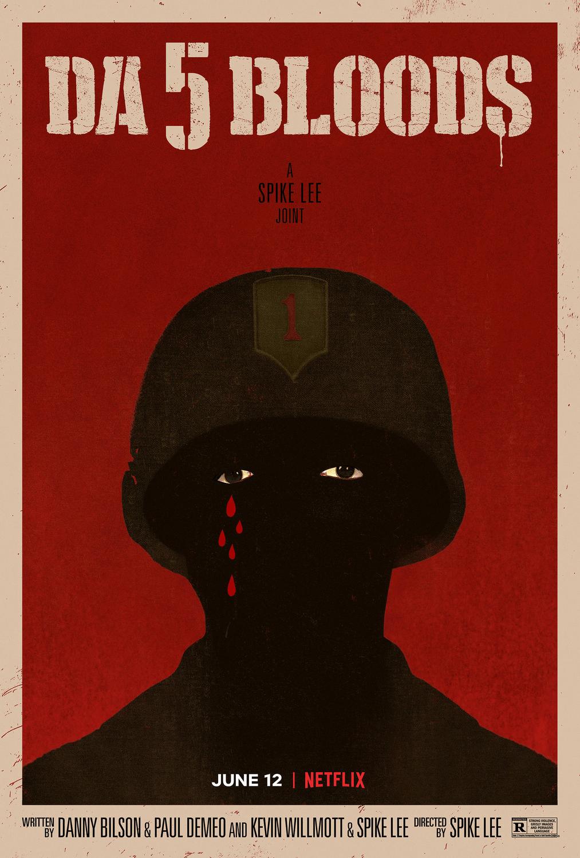 Netflix《誓血五人組》電影海報。