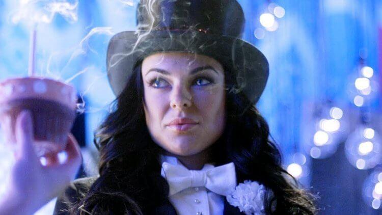 賽琳達史旺演出影集《超人首部曲》扎塔娜一角。