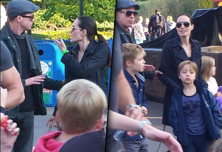 布萊德彼特曾與當時的妻子安潔莉娜裘莉帶著孩子一起到英國樂高樂園玩耍,結果當場吵了起來。